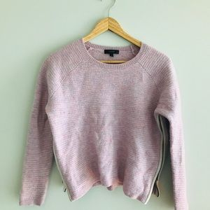 J.Crew - Multi-Blush Colour Side Zipper Sweater